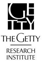Sponsors: The Getty Research Institute